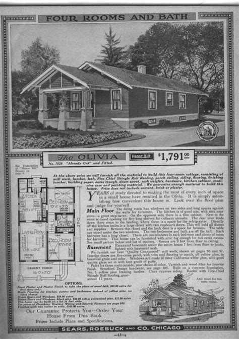 Sears Bungalow House Plans Photos Pinterest