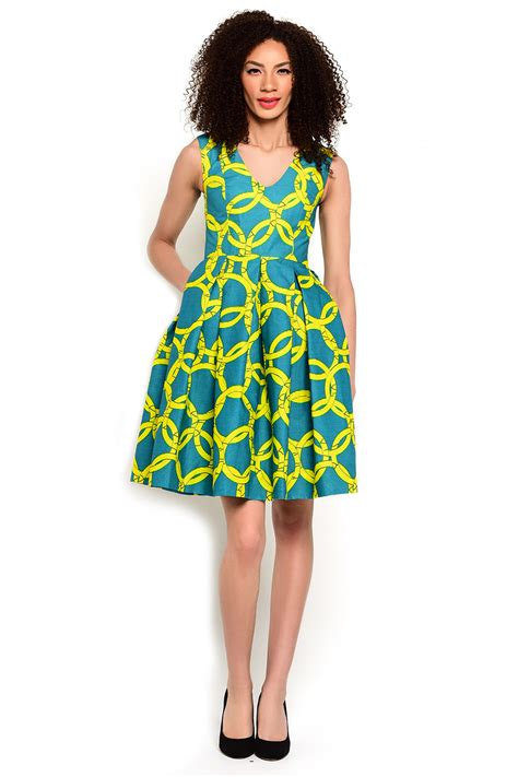 Afrina Dress fashion dresses in ankara styles and kente cloth