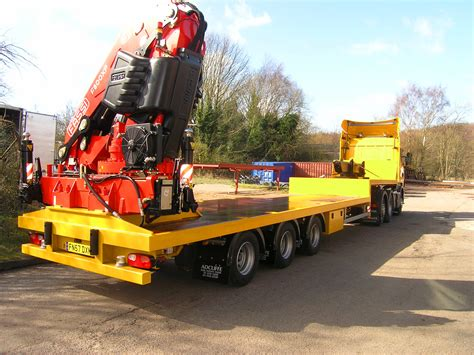 with trailer semi trailers adcliffe drawdeal ltd