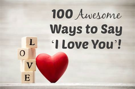 Sweetest Ways To Say I You by The 25 Best 100 Ways To Say I You Ideas On