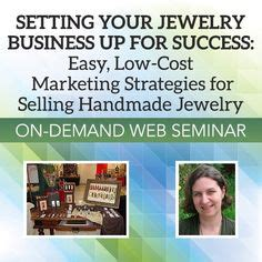 Grow Your Handmade Jewelry Business - 1000 images about beading business ideas on