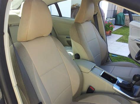 volvo xc90 car seat covers volvo leatherette custom fit two front car seat covers