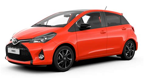 world auto toyota news new yaris orange edition it s a peach wayne s