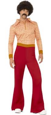 Men s 70 s guy shirt and bell bottoms costume retro costumes