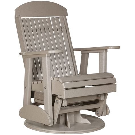 Patio Chair Swivel Glider Chair Outdoor Rocking Chair Patio Glider Chair