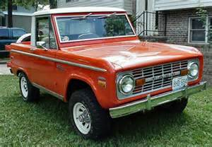 1970 S Ford Bronco For Sale 1970 Ford Bronco Halfcab