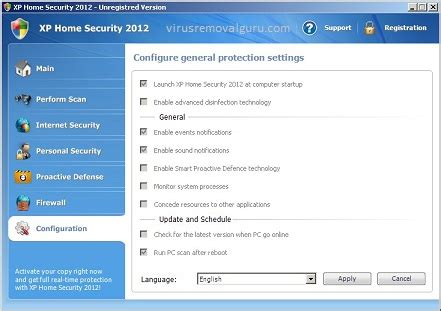 xp home security 2016 virus removal guide virus removal guru