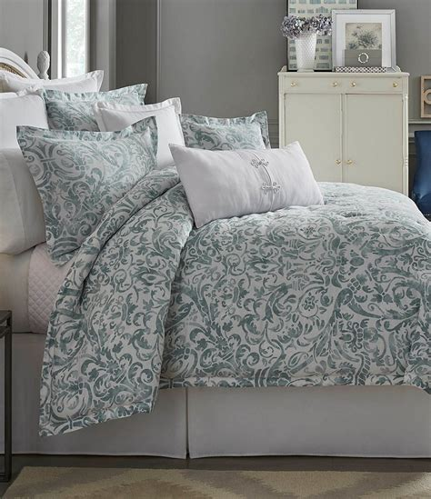 southern bedding southern living in bloom collection dunmore floral scroll