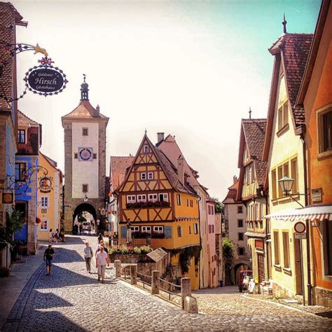 cutest small towns the cutest german towns to visit world of wanderlust