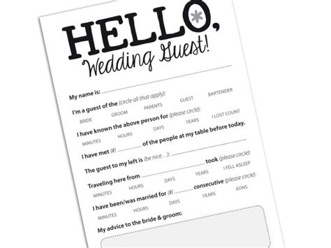 Wedding Advice Cards For Reception by Wedding Guest Card Marriage Advice Card By Helloinklings