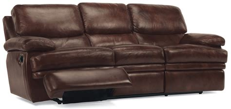 dylan leather sofa flexsteel dylan leather reclining sofa 11276290872