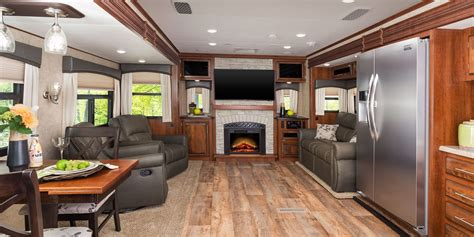 Rv Camper Floor Plans by 2017 Eagle Luxury Travel Trailers Jayco Inc