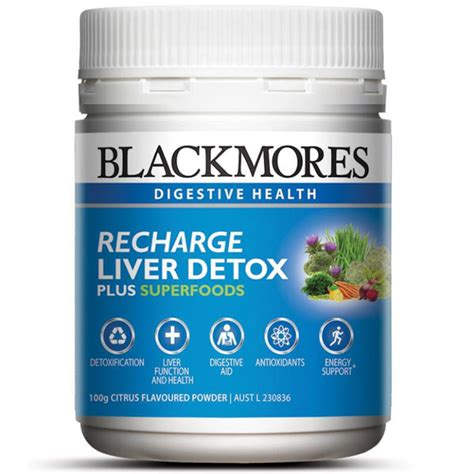 Detox Nz by Buy Blackmores Recharge Liver Detox 100g At Health Chemist
