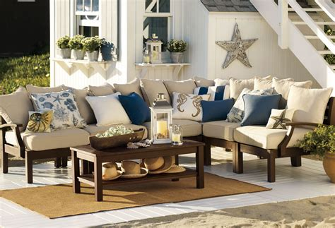 pottery barn furniture how to stain outdoor furniture pottery barn