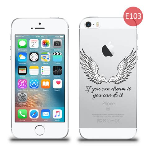 z iphone na tv etui silikonowe z nadrukiem iphone 5 5s se skrzydła you do it 4kom pl