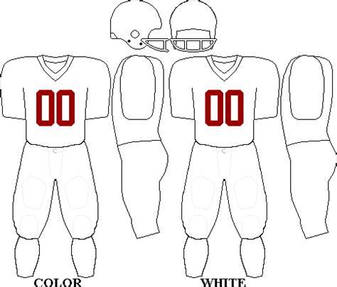 Football Uniforms Template Football Jersey Template