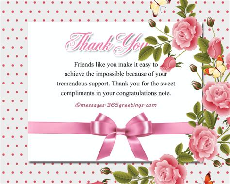 Thank You For Your Help Messages For Cards
