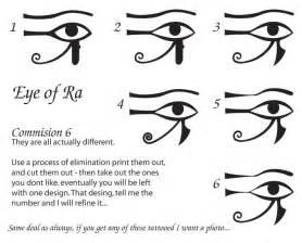 eye of horus tattoos tattoo lawas