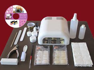 asp 36 watt uv l kit gel uv mat 233 riel pose d ongles en gel uv kit