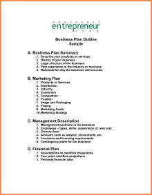complete business plan template 8 exles business plan outline bussines 2017
