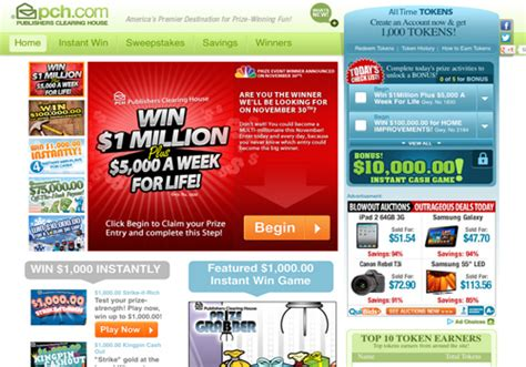 Pch Cm - new pch com quot one stop shop quot for prize winning fun pch blog