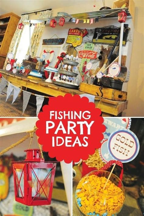 fishing themed birthday party ideas spaceships  laser beams