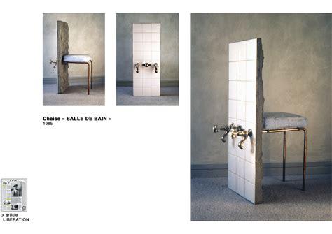 chaise salle de bain eric fourmestraux chaise quot salle de bain quot