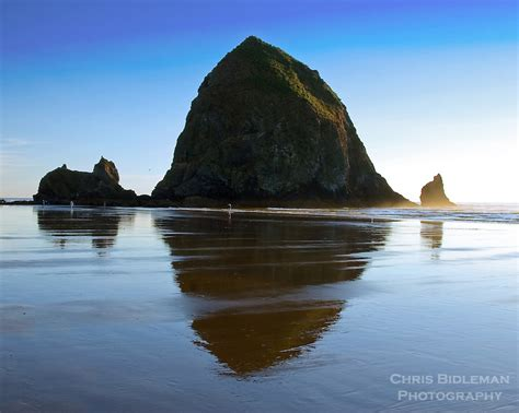 haystack rock oregon coast chris bidleman photography