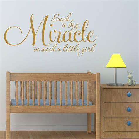Nursery Wall Sticker Quotes girl s nursery quote wall sticker by mirrorin