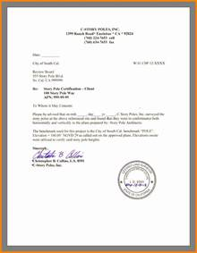Sample Certification Letter Residence certification letter sample residence sample certification letter