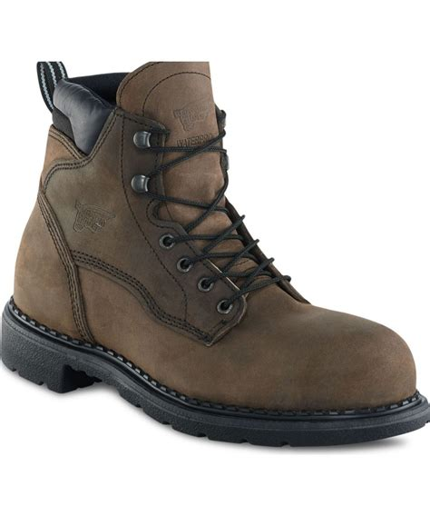 wing boots for wing men s 6 inch steel toe insulated wp boot 2206