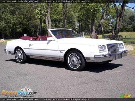 1983 buick riviera convertible 1983 buick riviera convertible white photo 10