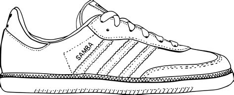 sketchbook png clipart samba shoe sketch