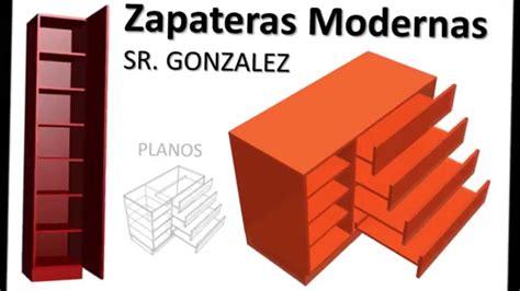 Programa Para Disenar Planos construir zapatera dise 241 o medidas modelos modernos con