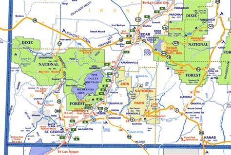 map of st george utah map of st george rv parks map of st george utah