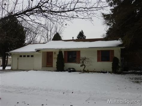 romeo michigan reo homes foreclosures in romeo michigan