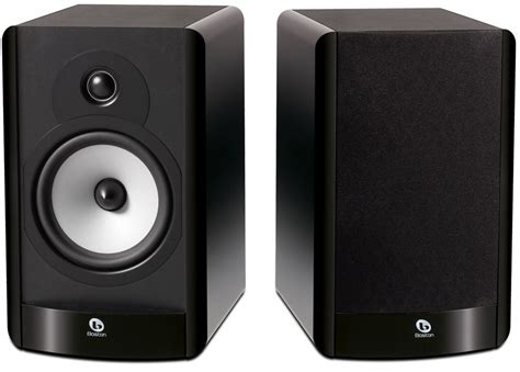boston acoustics a26 gloss black bookshelf speakers pair