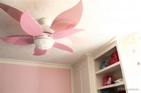 ceiling fans for girl bedroom new flower ceiling fan