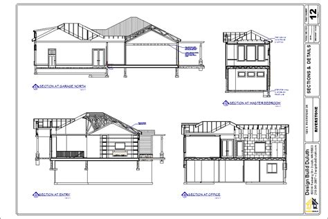 section drawing of a house drawing checklist designbuildduluth com