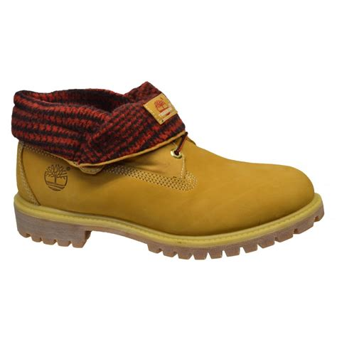 timberland boots roll top mens timberland timberland earthkeeper roll top nubuck wheat
