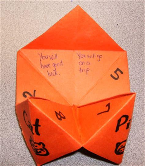 what to write inside a paper fortune teller c craft fortune teller wkn webkinz newz
