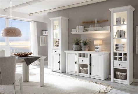 Besta Landhaus by Home Affaire Wohnwand 187 California 171 4 Tlg Standregal