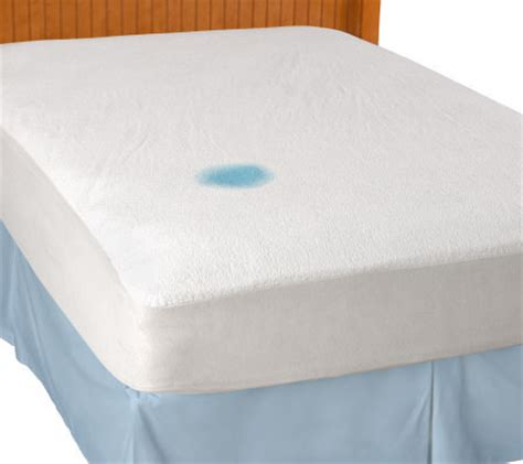 protect a bed king protect a bed waterproof cotton terry king mattress protector qvc com