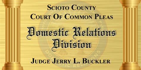 Scioto County Ohio Court Records Scioto Count Common Court