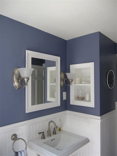 what color to paint a small bathroom to make it look bigger 45 best paint colors for bathrooms 2017 mybktouch com