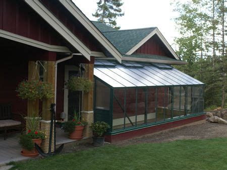Solarium Attached To House 17 Images About Greenhouse Ideas On