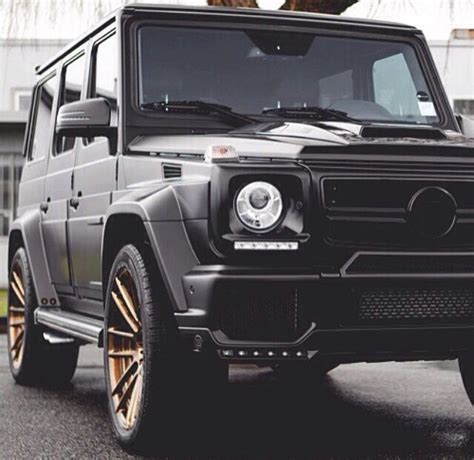 rose gold jeep matte black with rose gold rims my g class mercedes benz