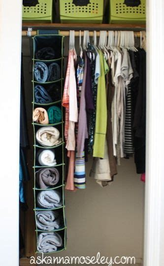 space saving closet solutions ask anna power productivity project