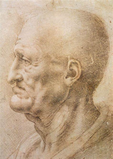 Leonardo Da Vinci Biodata | file leonardo da vinci profile of an old man jpg