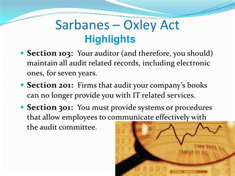 sarbanes oxley act section 201 worldcom enron fraud bankruptcy soa gaap sec